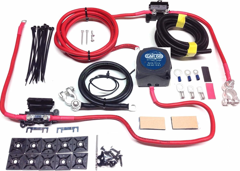 N/&C 12 V 140 Amp Charmge Relay Voltage Sensitive Campers