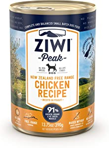 ZIWI Peak Wet Dog Food - Natural High Protein, Grain Free, Limited Ingredient Recipes (Case of 12)