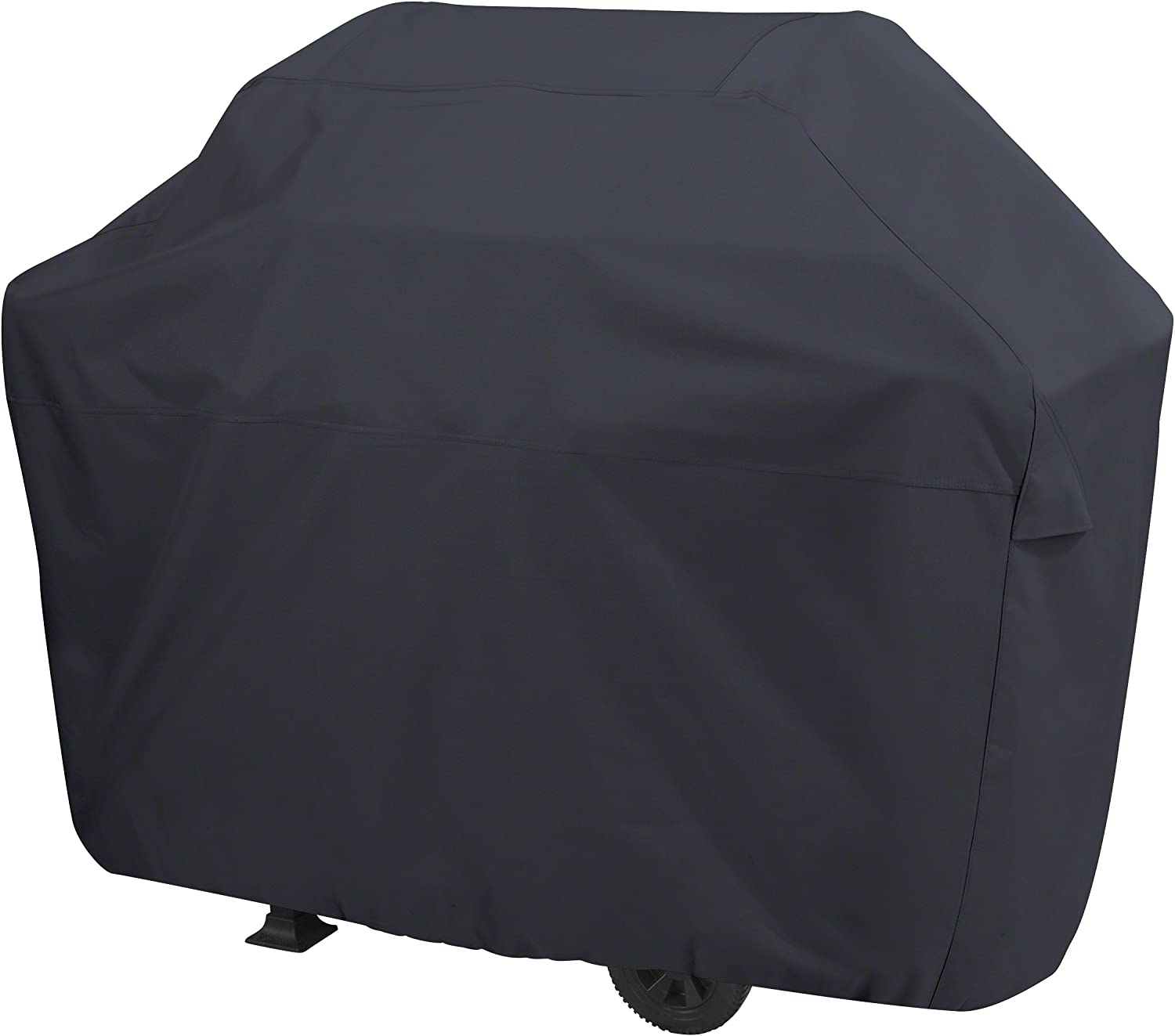 AmazonBasics Gas Grill Barbecue Cover, Medium / Small, Black