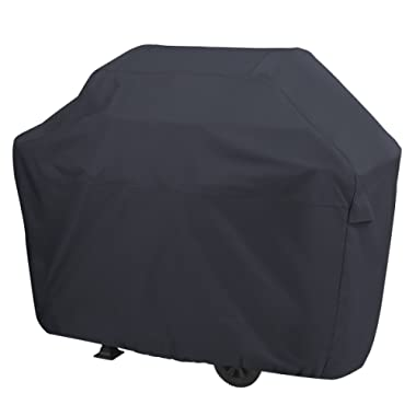 AmazonBasics Gas Grill Cover - Large, Black