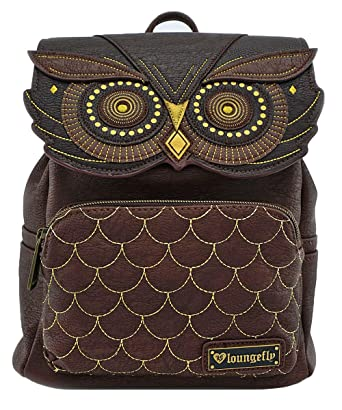 16ec02004ce1 Owl Faux Leather Mini Backpack Standard