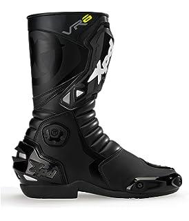 XPD Botas para Motociclista, Negro, 44