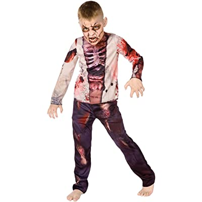 Palamon Boy Zombie Costume: Toys & Games