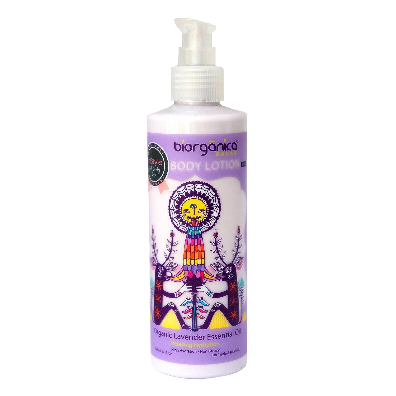 b0653fd86d Loción Hidratante Orgánica Con Alta Concentración de Aceite Esencial de  Lavanda 240 ml Biorgánica Bacab