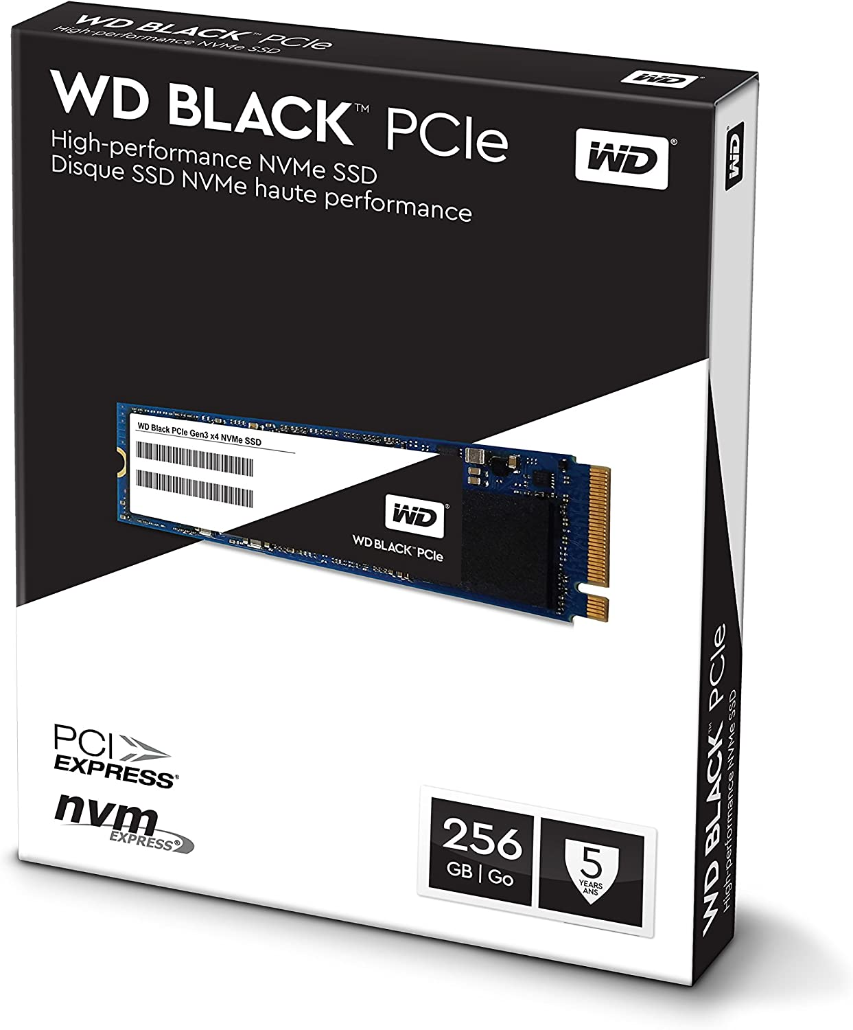 8 Gb//s M.2 2280 PCIe NVMe Solid State Drive WDS512G1X0C Old Version WD Black 512GB Performance SSD