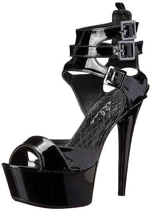 Ellie Shoes609-una - 609-una Para Mujer, (Rojo), 11