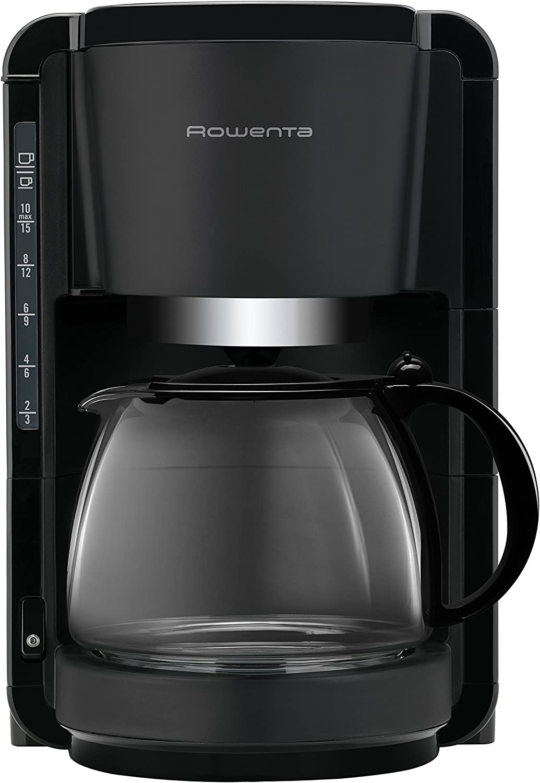 Rowenta CG380811 Cafetera de goteo, 1100 W, 1.25 L, color negro ...