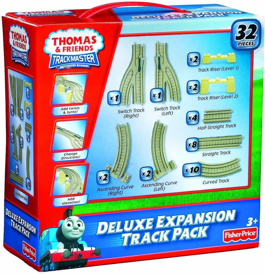 Thomas /& Friends For Motorized Trains TrackMaster Deluxe Expansion Track Pack