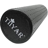 Round Foam Roller by Tiiyar – Sturdy Odourless Eco EPP High Density Non-Slippy Foam Massage 90cm, 60cm, 45cm, 30cm, Deep…