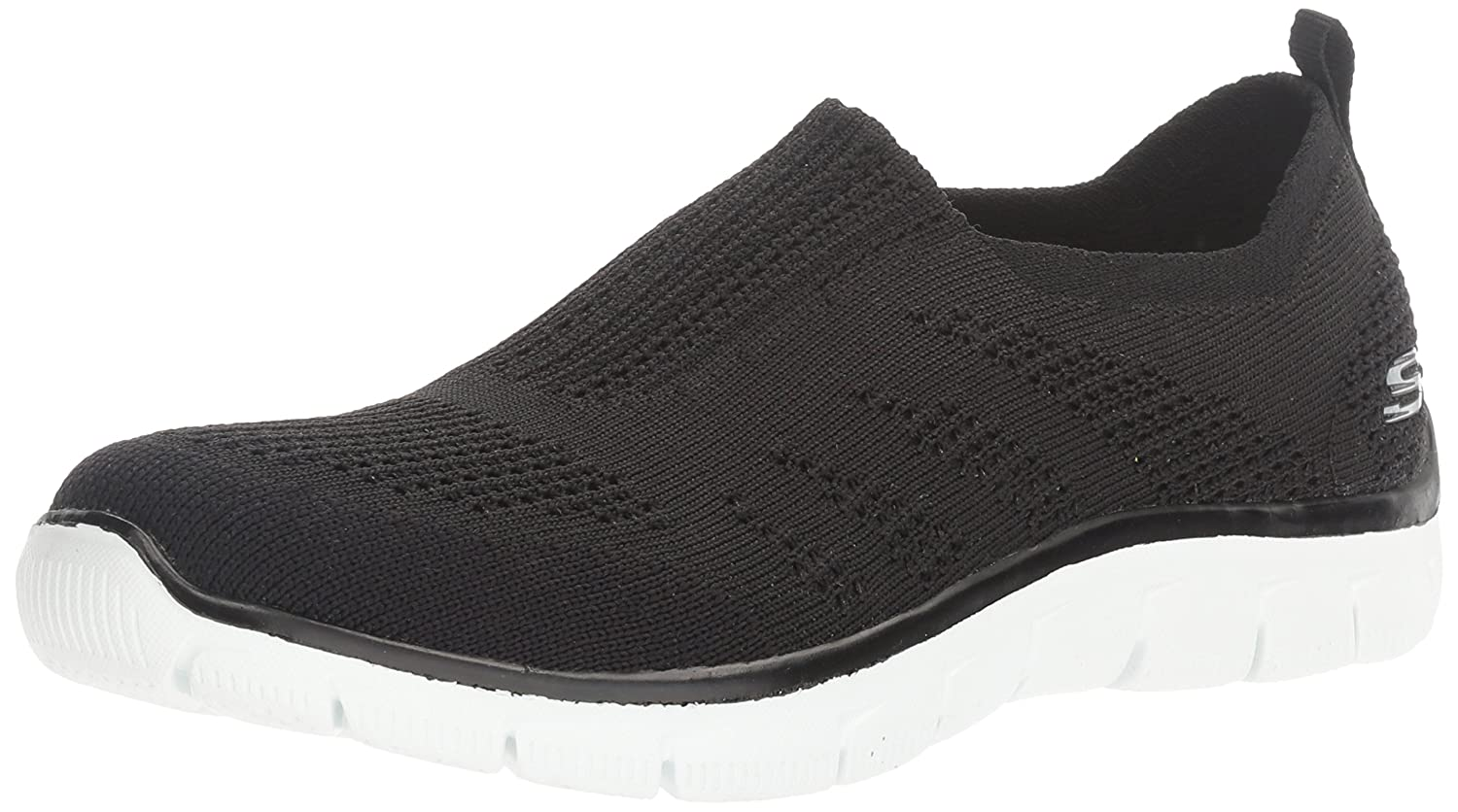 Skechers Empire-Inside Look, Zapatillas para Mujer 41 EU|Black