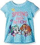 Nickelodeon Baby Girls' Toddler Paw Patrol Spring Into Action Short Sleeve T-Shirt