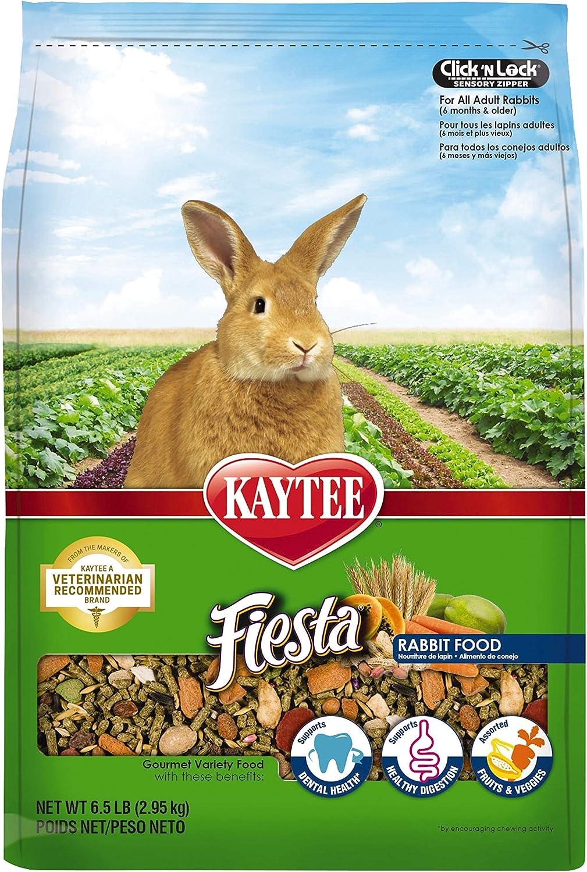 Kaytee Fiesta Rabbit Food 6.5 pounds : Dry Pet Food : Pet Supplies