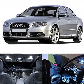 LED blanco luces interior kit de paquete para Audi A4 B7 2005 - 2008 sólo (20 unidades): Amazon.es: Coche y moto
