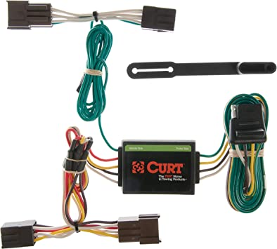 Amazon.com: CURT 55333 Vehicle-Side Custom 4-Pin Trailer Wiring Harness for  Select Ford Taurus, Mercury Sable: AutomotiveAmazon.com