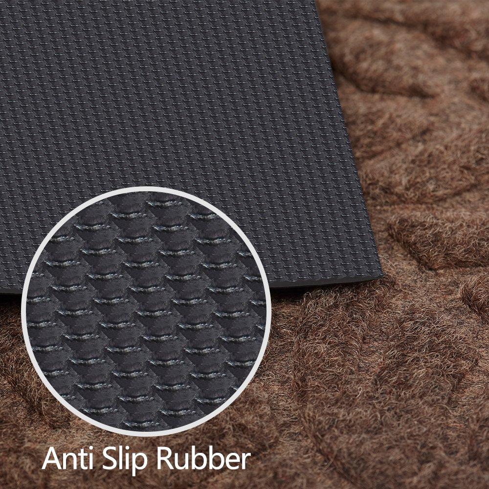 Amazon.com : Large Outdoor Door Mats Rubber Shoes Scraper for ...