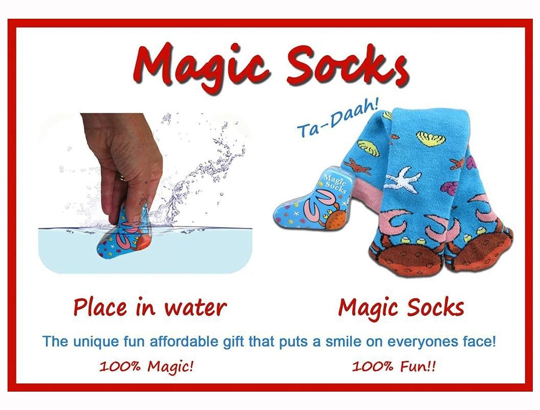 """Crab """"Magic Socks - Expands in Water   B003LZY4M6"""