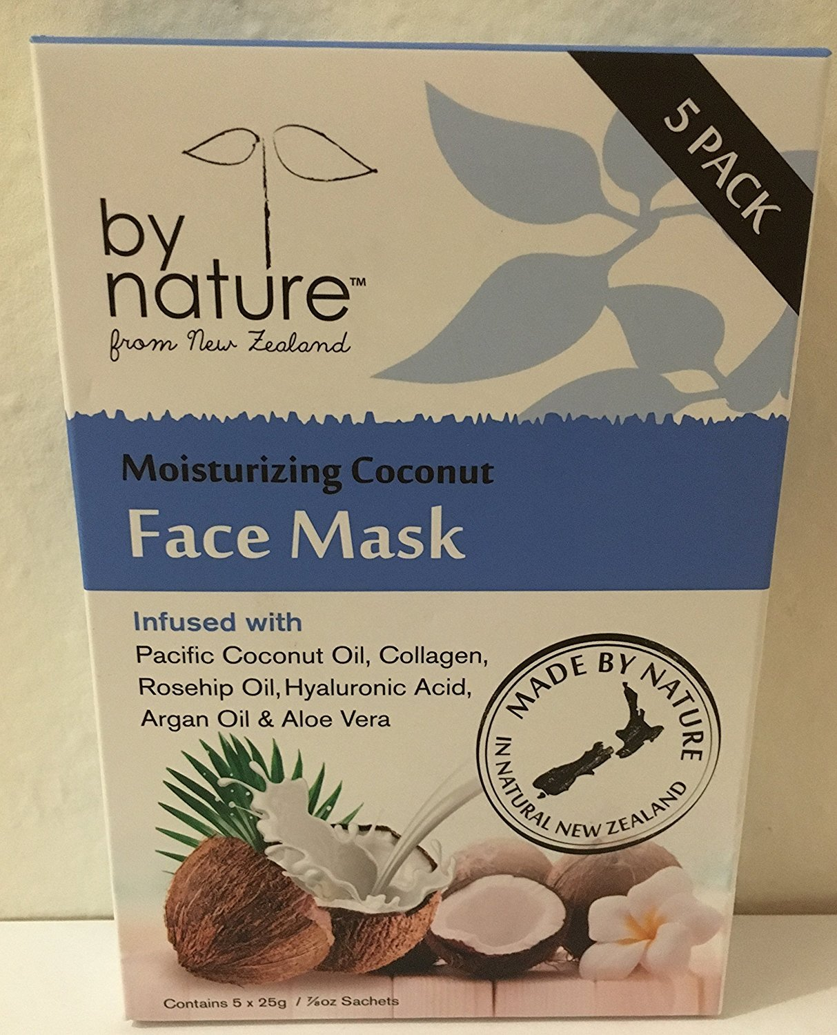By Nature Moisturizing Face Mask With Coconut Oil