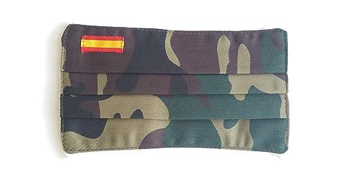 Pack 2 mujer camuflaje bandera de España: Amazon.es: Handmade