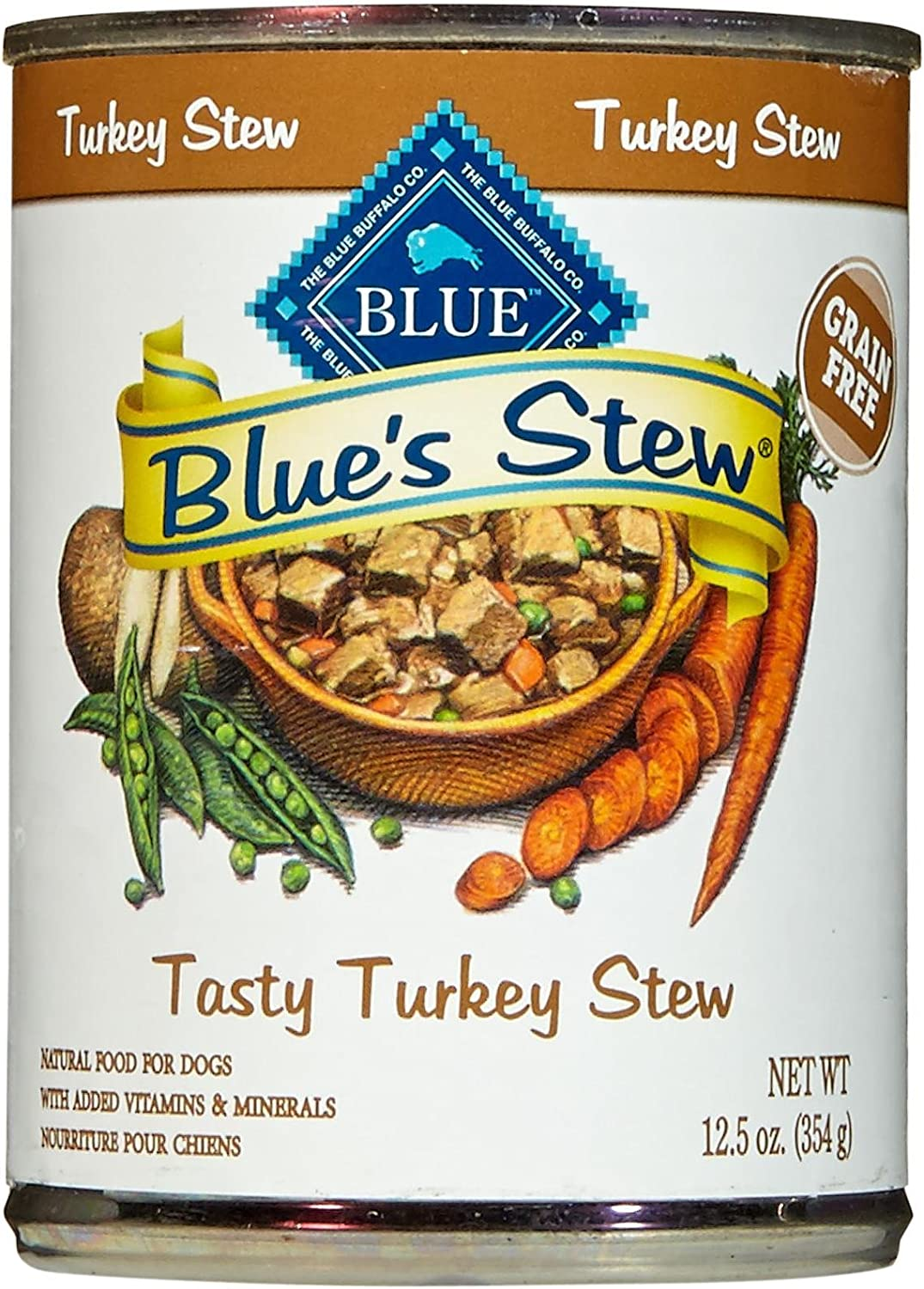 Blue Buffalo Blue S Stew – Turkey – 12.5 Oz – 12 Ct