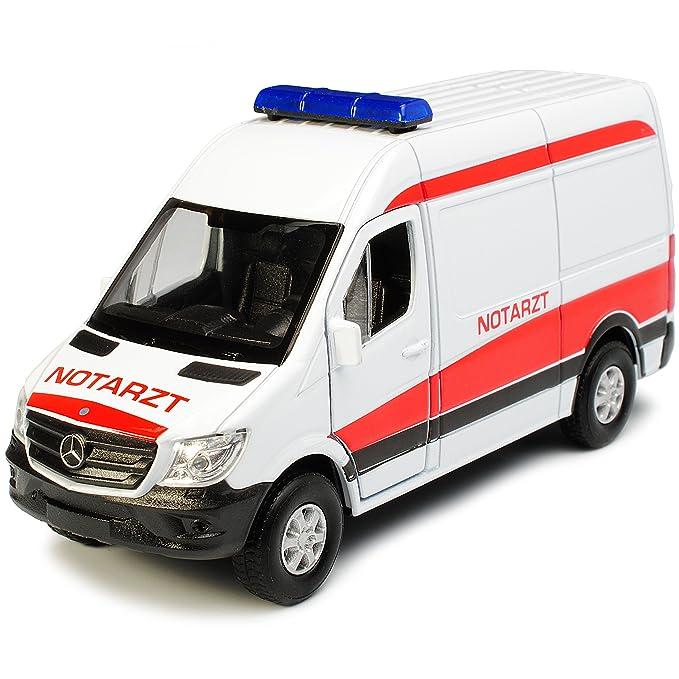 Mercedes-Benz Sprinter W906 Kasten Transporter Weiss Modell 2006 Ab Facelift 2..