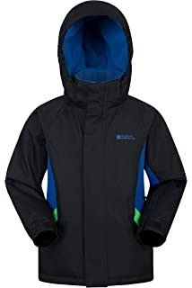 889dbb16d4b Amazon.com   Mountain Warehouse Raptor Kids Snow Pants - Detachable ...
