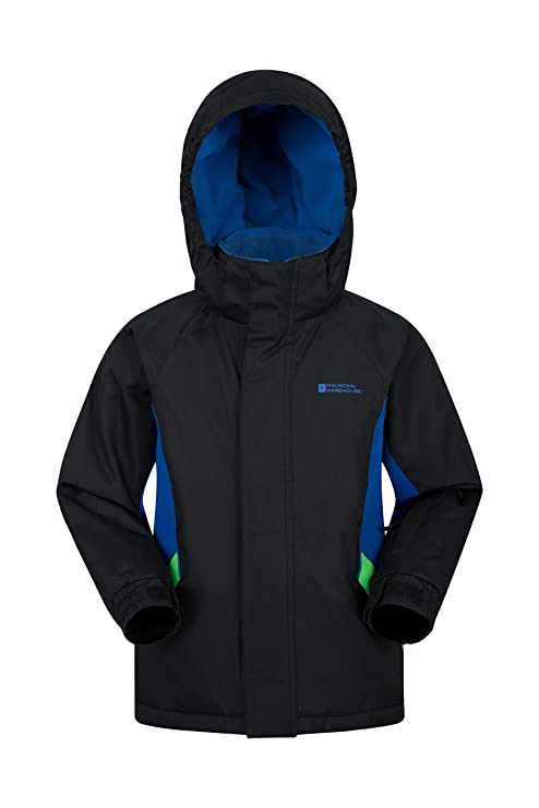 017fd9b85 Amazon.com   Mountain Warehouse Raptor Kids Snow Jacket - Winter Ski ...