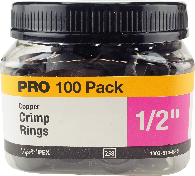 Apollo APXCR12100JR Crimp Ring, Copper
