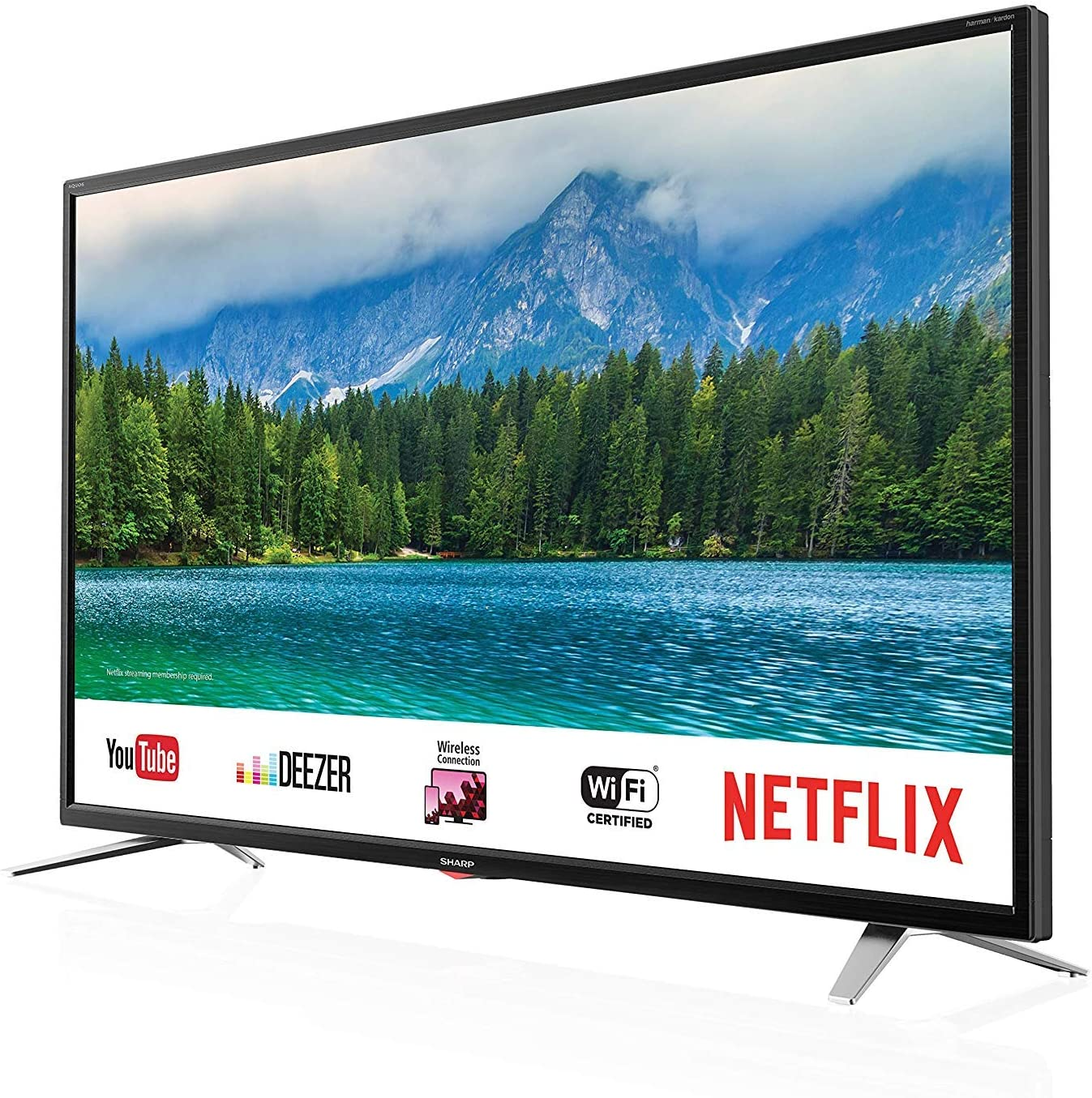 Sharp LC 40 FI5342 E - 102 cm (40 Zoll) TV (Full HD, Smart TV, WLAN, Triple Tuner (DVB T2), USB, Harman/kardon Sound): Amazon.es: Electrónica