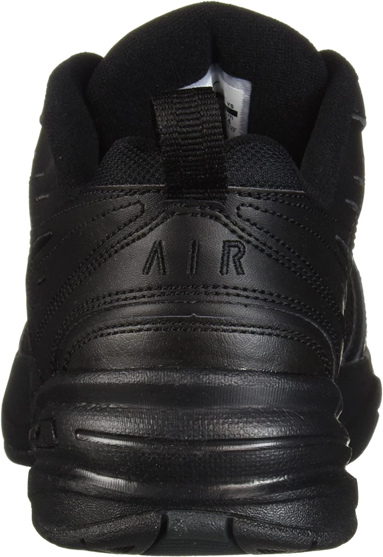 Nike Air Monarch Iv, Basses Et Slip-on Homme Noir