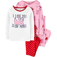 Carter's Girls' 4 Pc Cotton 371g083