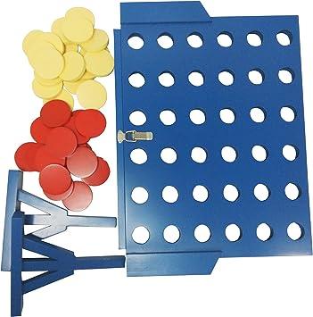 Funmate lujo de madera gigante 4 en una fila juego, conectar 4 conectar cuatro line up 4 en una fila de cuatro en una línea de juego de tablero 4 in a