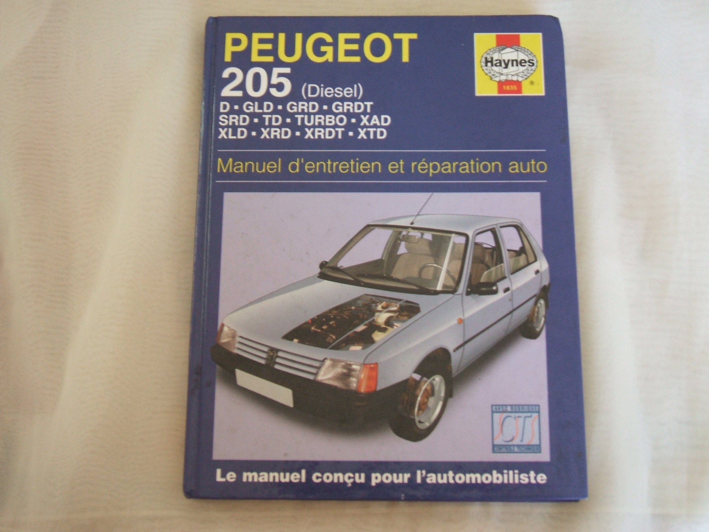 Peugeot 205 Diesel (French service & repair manuals): Amazon.es: Libros en idiomas extranjeros