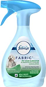 Febreze Fabric Refresher Dog Cleanup Pet Odor Eliminator