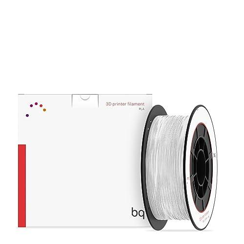 bq 05BQFIL027 - Filamento de PLA para impresión 3D, 75 mm, color blanco
