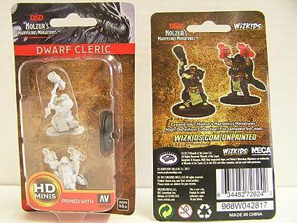 D&D NMU: Dwarf Male Cleric W2
