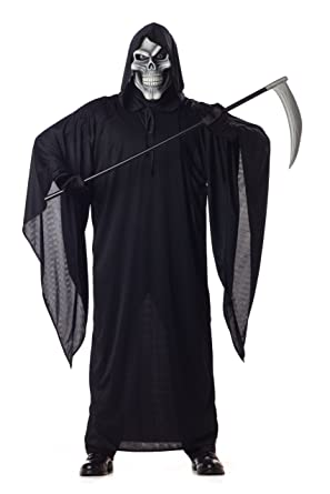 e3ea994cc3 Amazon.com  California Costumes Men s Grim Reaper Costume  Clothing