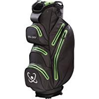 STA-DRY 100% Waterproof Golf Cart Bag 2018 Graphite Grey and Lime
