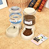 XIAPIA Automatic Dog Cat Pet Food Feeder and