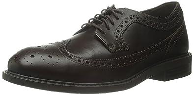 Dunham Men's Grayson-Dun Oxford Shoe, Brown, ...