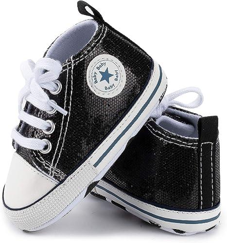 Newborn Girl Boy Soft Sole Crib Shoes Toddler Kids Walker Infant Shoes Sneaker