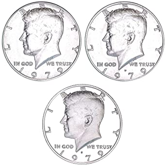 2013 P D S  From Mint Sets /& Cameo Kennedy Half Dollar  Proof 3 coin set