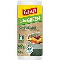 Glad Glad To Be Green Compostable Mini 25Pack, 0.122 kilograms
