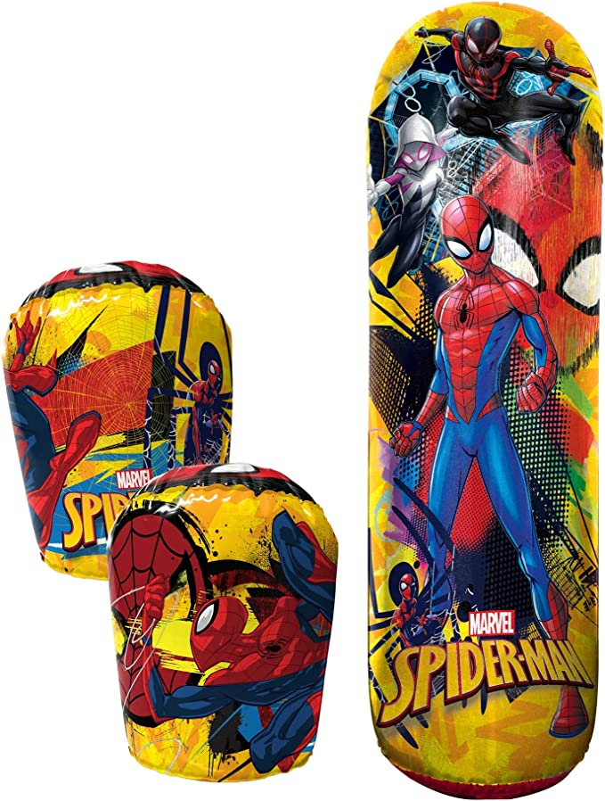 Details about  /Spiderman Boxing Gloves Children PunchBag Boxset Hanging Training Boxing Gift show original title