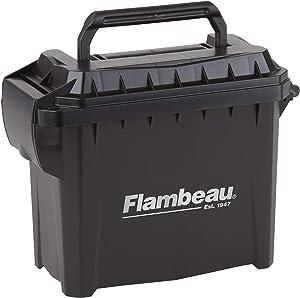 """Flambeau Outdoors 5415MC Mini Ammo Can, Portable Ammo Storage, Black, Mini - 6.75"""" L x 3.375"""" W x 5.5"""" D"""