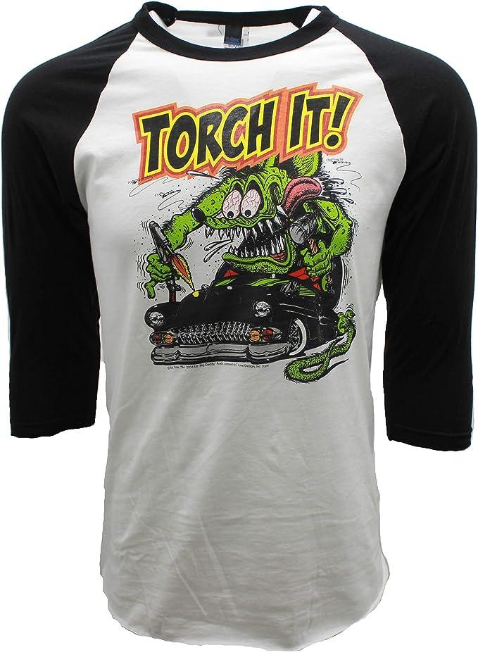 Ratfink T Shirts Big Daddy Clothing Ed Roth Signature Tee Automotive Shirts