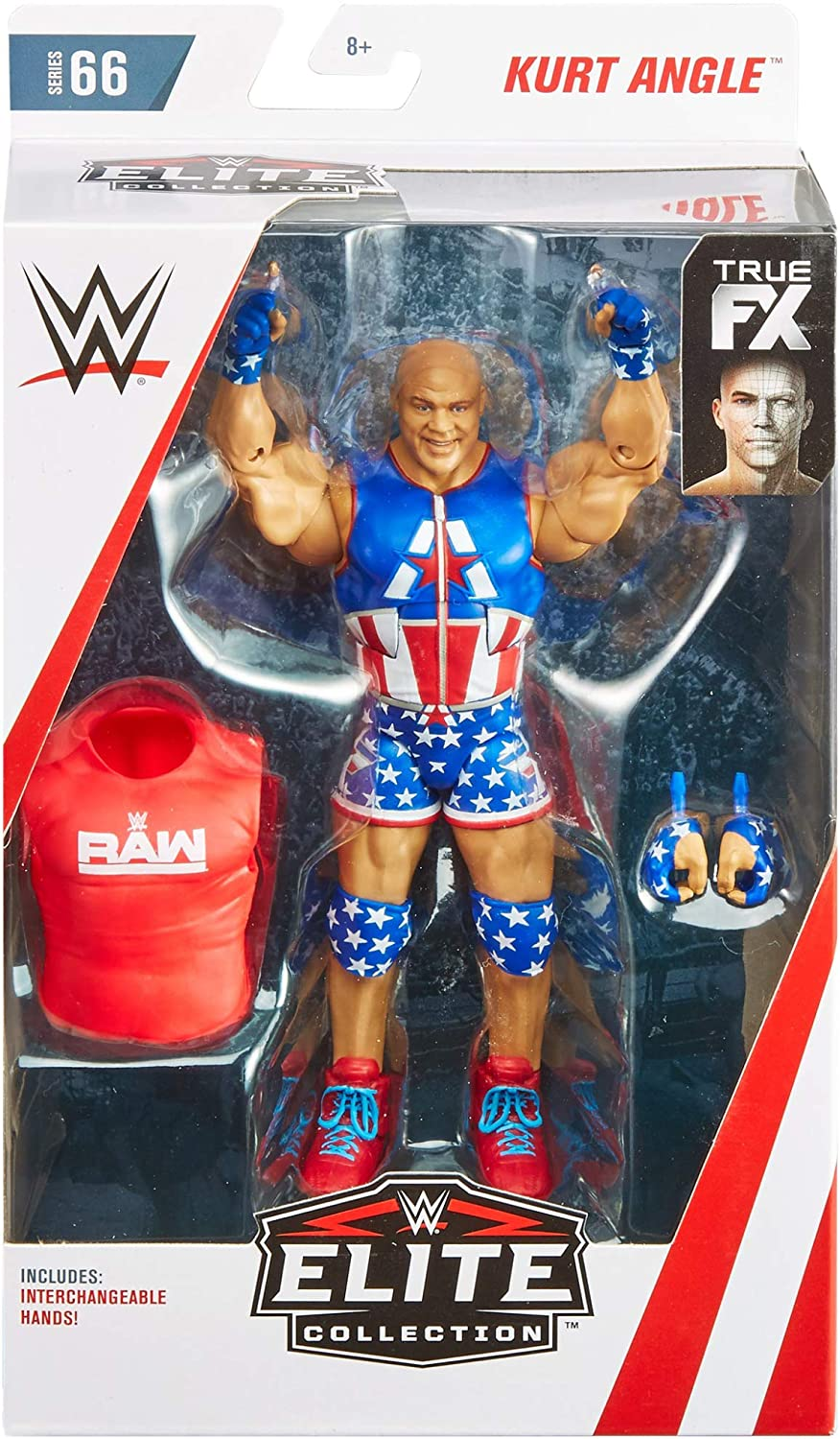 WWE Kurt Angle Elite Collection Series # 66 Action Figure Mattel GCL32