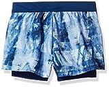 adidas Girl's Tennis Melbourne Line Shorts