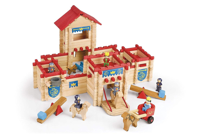 Jeujura JeujuraJ8026 Holzbausatz Holzbausatz Holzbausatz Schloss, 300 Teile d910ac