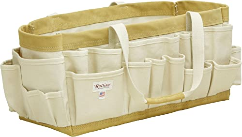40 Pocket Heavy Canvas Tool Bag Finish Carpenter Professional