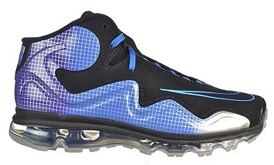timeless design 86599 b5d47 NIKE Air Max Flyposite NRG Megatron Calvin Johnson BlackBluePurple Black Blue